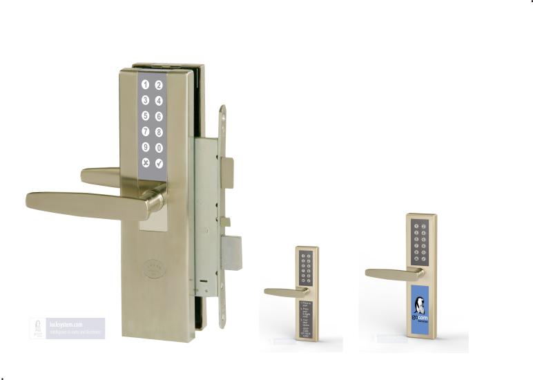 RFID + PinCode Schloss